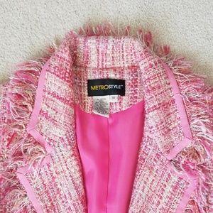 metrostyle Jackets & Coats - Pink blazer